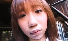 Attractive asian honey gets wild