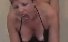 Wife receive her first anal