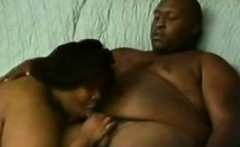 Fat Black Amateur Couple