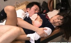 Japanese AV Model is fucked after class