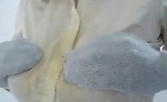 Groping Her Big Tits