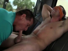Baited Straight Guy Gets Surprise Gay Blowjob