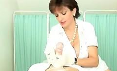 Nurse Stroking On A Patients Cock POV