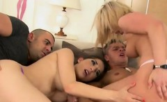 Angel And Jimena Suck And Take Dick In Wild Sex Party