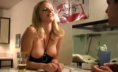 Real life amateur couple playing sex game for camera