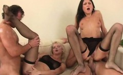 Barbara Summer In A Foursome With Her Friend