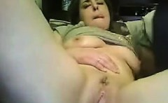 Fat Married Couple Fooling Around