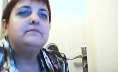 Fat Old Webcam Woman