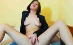 Hot Chick Rubbing Her Pussy