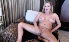 Squirting pale MILF Nikki with sweet big tits