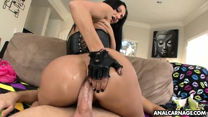 Ava Addams sucks the dick before anal