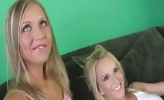 Black Stud And Two Blonde Babes