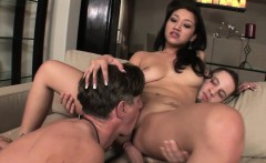 Vicky allows her husband to suck a cock
