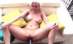 Super gorgeous and blonde Jenna Ivory gets hammered hard