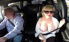 Unfaithful british milf gill ellis showcases her huge melons