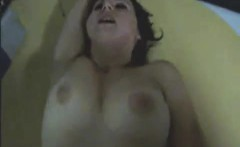 Spouse rubs her clit while that is difficult fucking on his