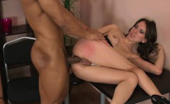 Chick gets coarse anal toying before riding on dudes pecker