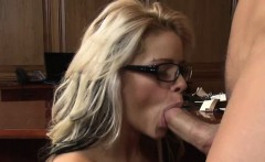 If the gorgeous, glasses wearing, blonde secretary Jessa...