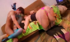 Cute students having sex and get cumshot