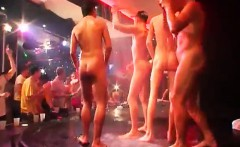 Teen group boy physical video gay The Dirty Disco soiree is