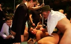 Teen gay sex porno video gangsta soiree is in utter gear now