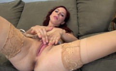 Penny Pax is Sexy All-Natural and Masturbating