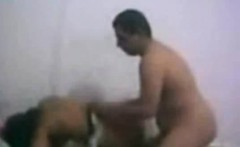 Horny Arab couple in private homemade video