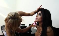 TS Karla Carrillo Behind The Scene
