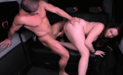 fucked in traffic   valentines day car sex with dutch babe