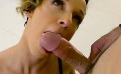 Hot Seamstress Jada Stevens Blows Hung Client