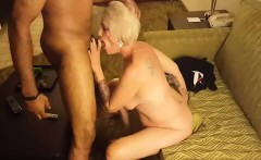 BBC is got by stunning blonde girlfriend