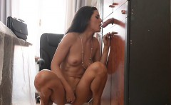 small tits pornstar deepthroat with cum in mouth