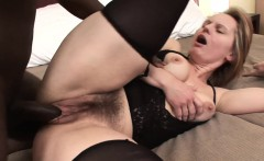 European MILF Magda wants to try some black cock