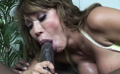 Legendary pornstar Ava Devine takes a BBC up her ass