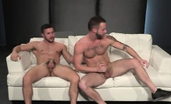 Hot gay anal with cumshot