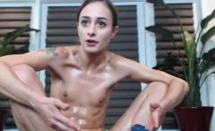 Slutty Slender Camgirl Showing Off Her Pussy On Webcam