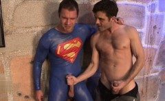 Hot gay domination with cumshot