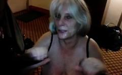 Mature blonde granny fucking