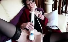 MILF Lexa mature solo masturbation