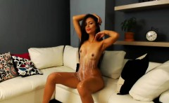 Naughty Brunette Model Hot Webcam Show