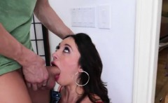 Sexy brunette Quin gets fucked after caught being naughty