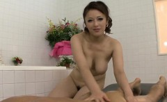 Meisa Hanai uses her huge tits to deal cock during complete