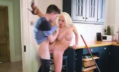 Whore milf Barbie Sins her chores