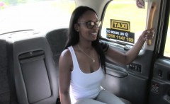 Lola Marie In Ebony Babe Squirts and Piss in Taxi
