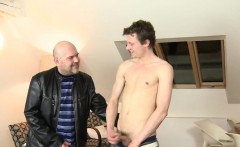 Older euro cocksucked by younger euro amateur