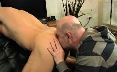 Euro amateur rimmed and sucked by older guy