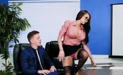 Hot Secretary Raven Bay Enjoys Anal Dicking
