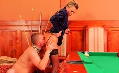 Domination fetish with tied up sweetheart getting dildoded