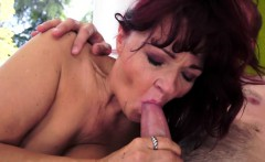 Redhead gilf with bigtits gets fucked deeply