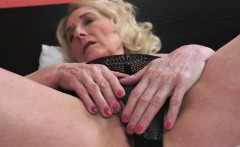 Chubby Granny Fucked After Showing Her Pussy